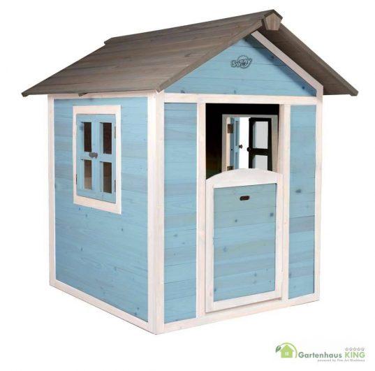 Sunny Kinderspielhaus Lodge blau