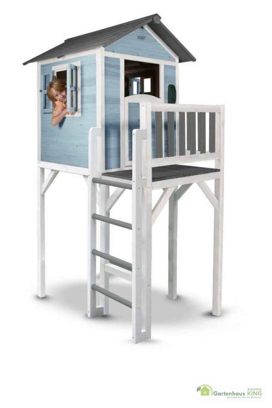 Sunny Kinderspielhaus Lodge XXL blau-weiss