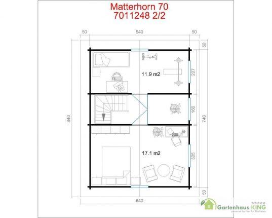 Lasita Maja Wochenendhaus Matterhorn 70