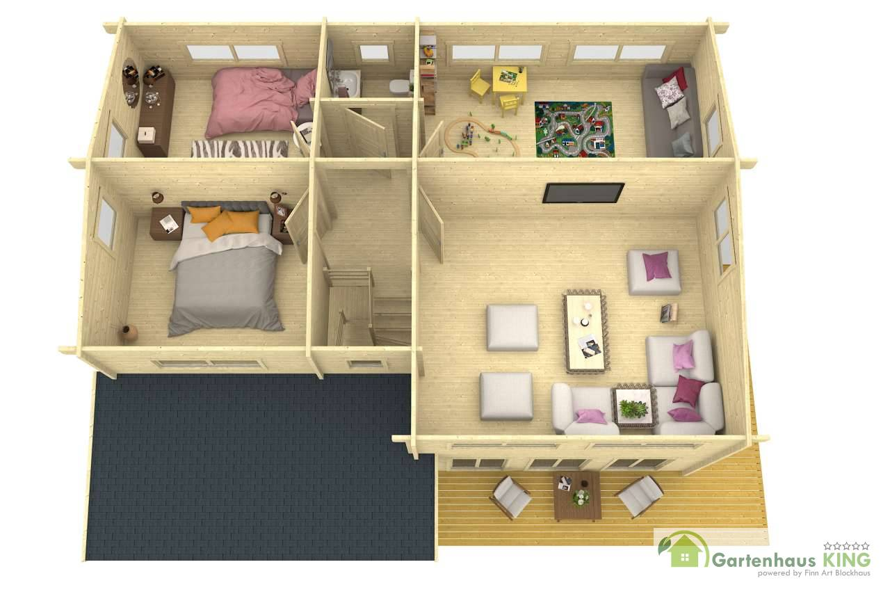 lasita maja wochenendhaus mekong xl gartenhaus. Black Bedroom Furniture Sets. Home Design Ideas