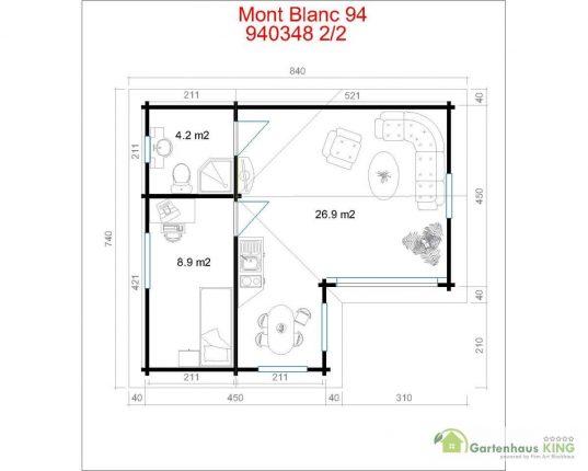 Lasita Maja Wochenendhaus Mont Blanc 94