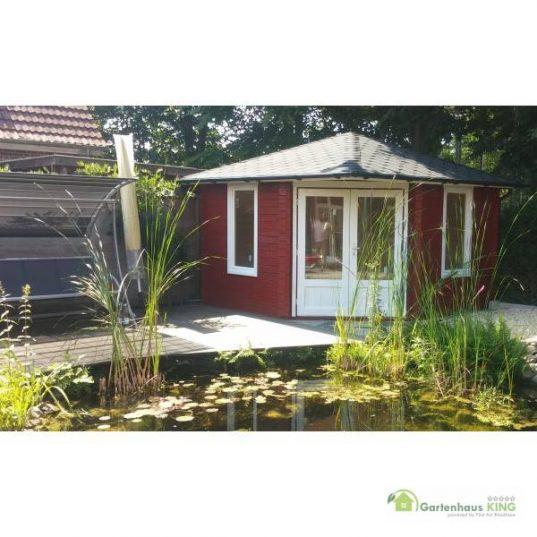5 Eck Gartenhaus Norwegen 27