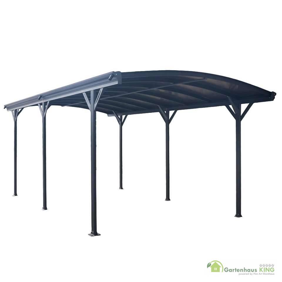 aluminium carport falo anthrazit gartenhaus. Black Bedroom Furniture Sets. Home Design Ideas