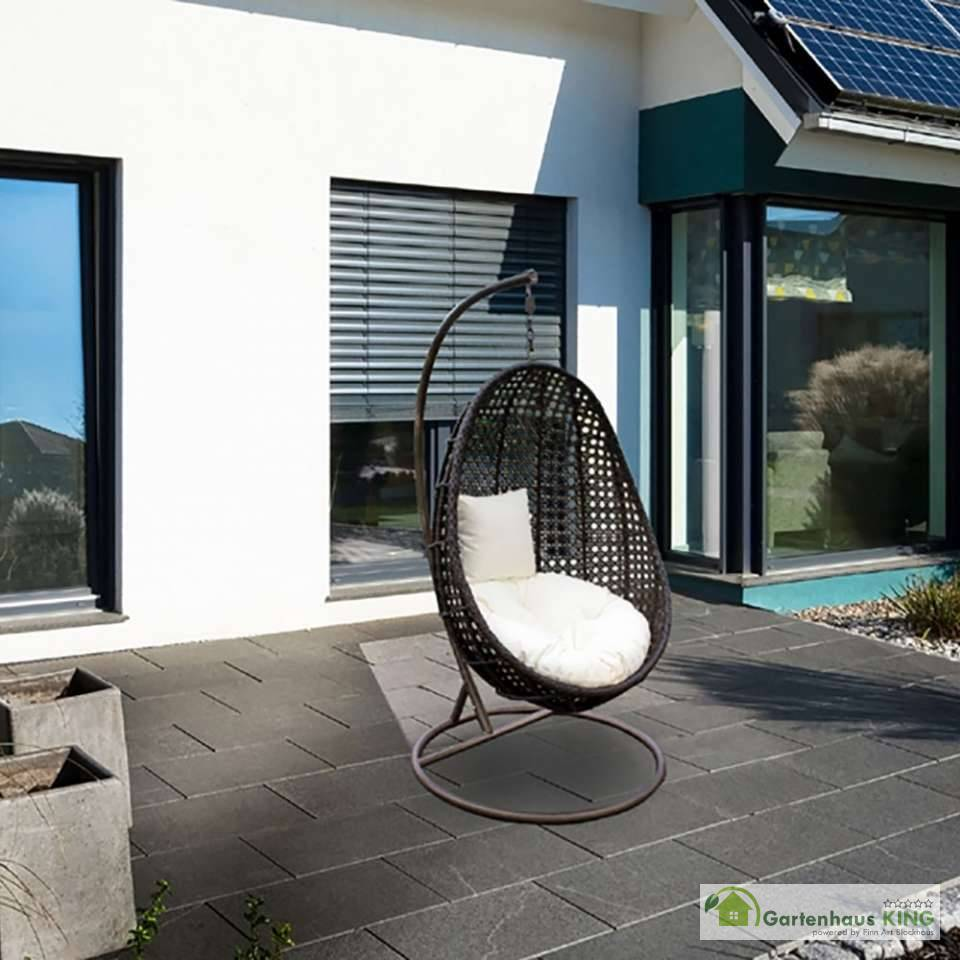 polyrattan h ngesessel nido gartenhaus. Black Bedroom Furniture Sets. Home Design Ideas