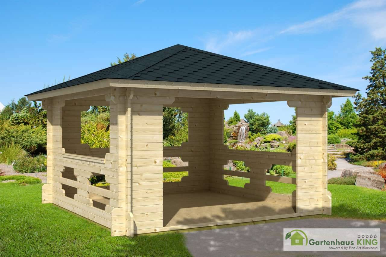 pavillon ibiza 70 gartenhaus. Black Bedroom Furniture Sets. Home Design Ideas