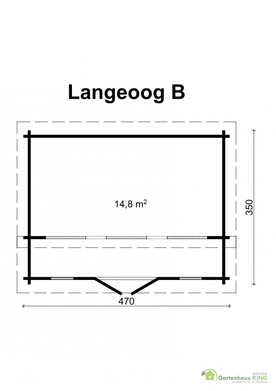 Gartenhaus Langeoog B