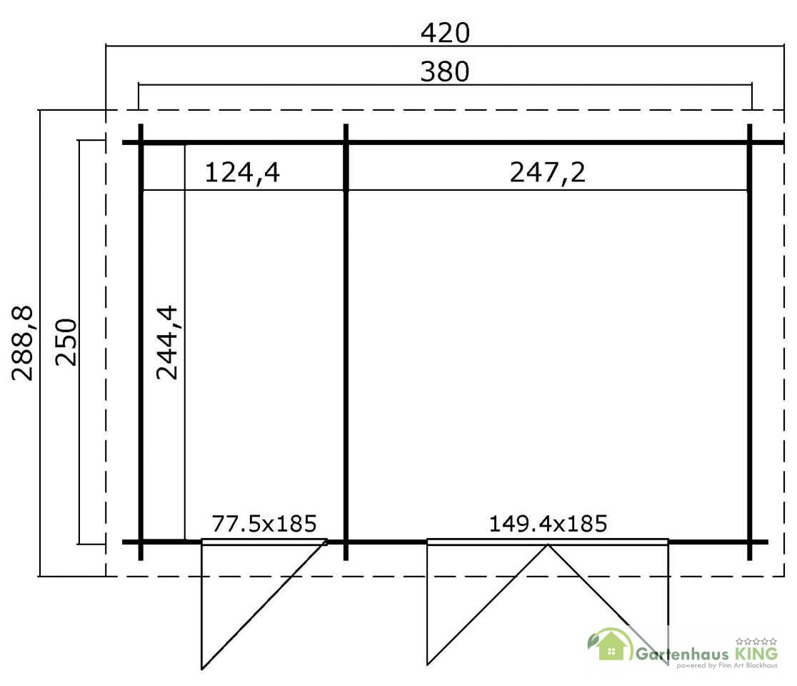 pultdach gartenhaus lasita maja belmont 1 gartenhaus. Black Bedroom Furniture Sets. Home Design Ideas
