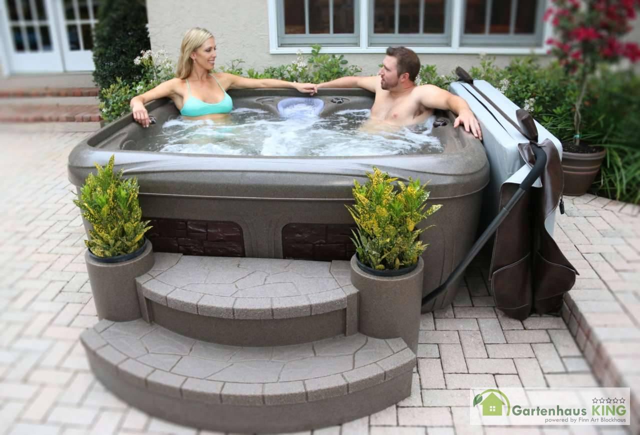 Whirlpool Dream Maker Stonehenge Ez Spa Gartenhaus Kingde