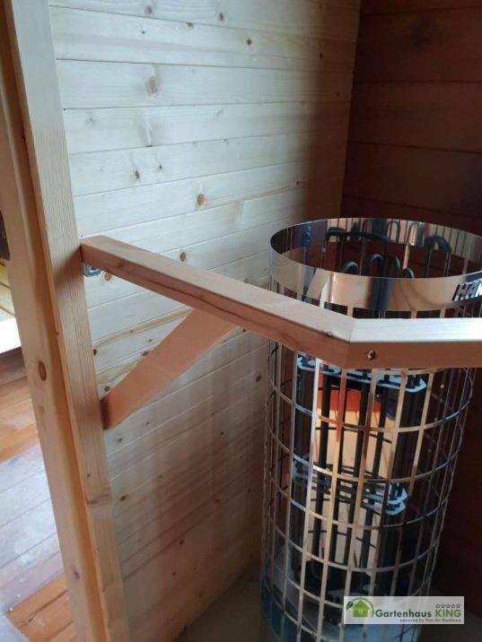 Finn Art Fass-Sauna Deluxe 400 oval Bausatz