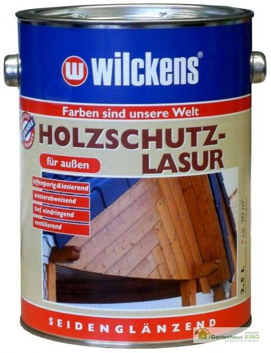 Wilckens Holzschutzlasur 2,5 l Gebinde