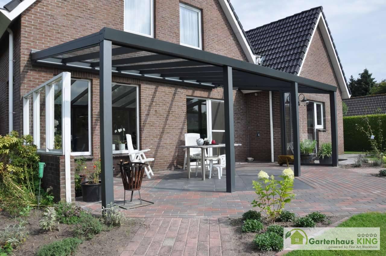 alu terrassen berdachung expert vsg glas anthrazit struktur ral 7016 gartenhaus. Black Bedroom Furniture Sets. Home Design Ideas