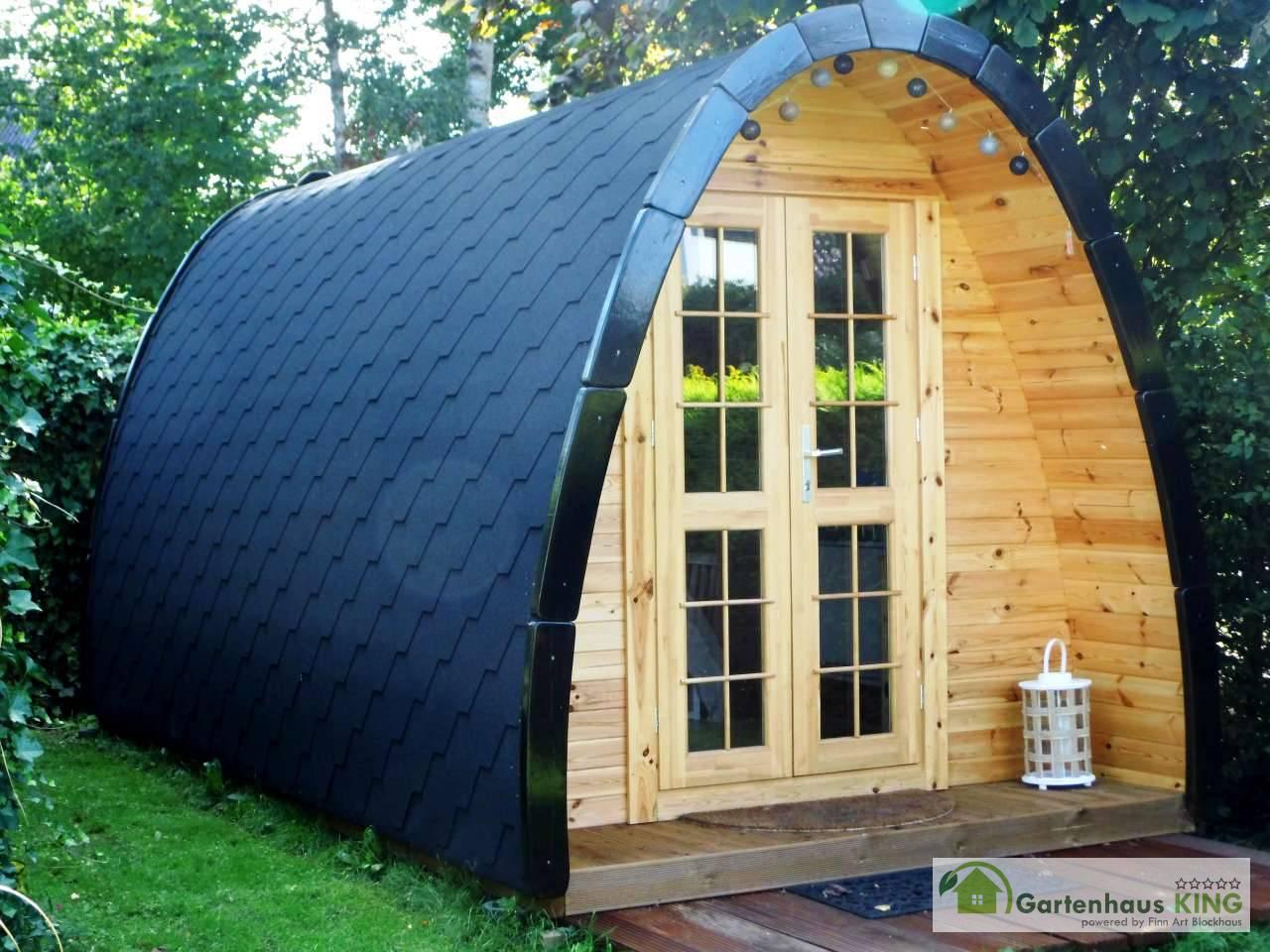 Camping Pod Luxury 240x590 isoliert