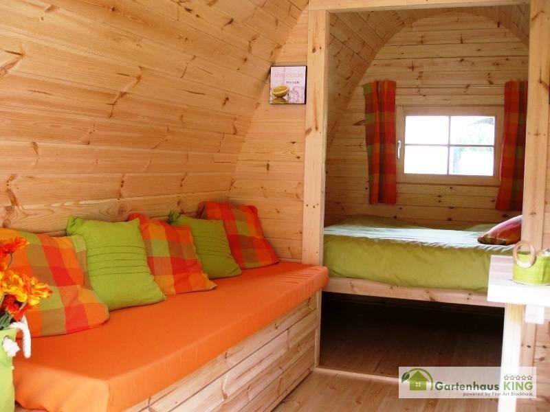 Klappbank zum Schlafen für Camping Pod/Bus/Fass