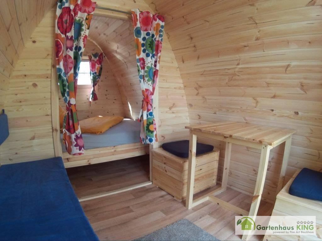 Sitzgarnitur Set 1 für Camping Pod/Bus/Fass