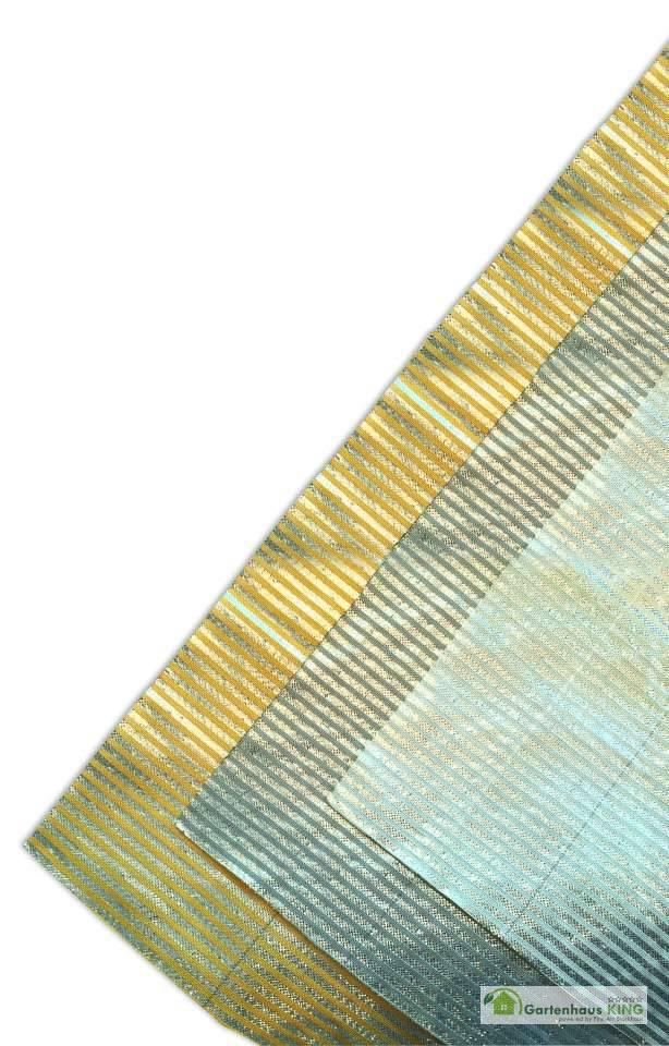Lamellentuch für Polycarbonat Dacheindeckung