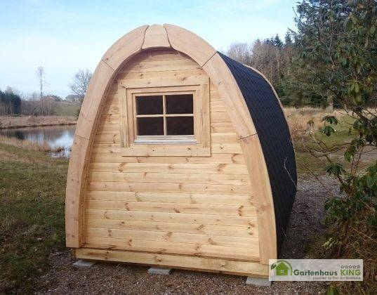 Camping Pod Luxury 240x350 isoliert