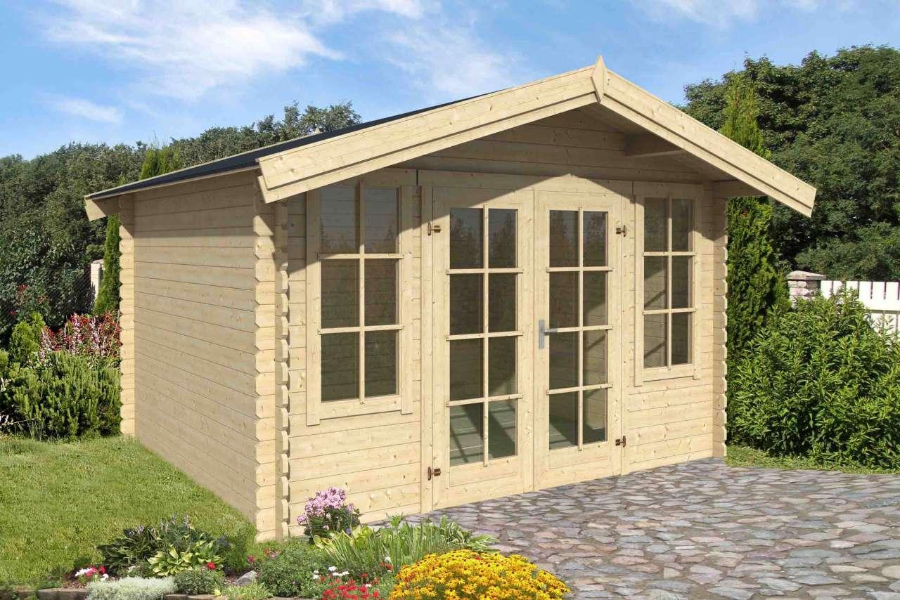 lasita maja gartenhaus robin 280 gartenhaus. Black Bedroom Furniture Sets. Home Design Ideas
