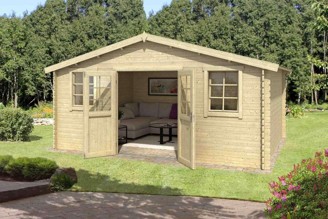 lasita maja gartenhaus finn 26 gartenhaus. Black Bedroom Furniture Sets. Home Design Ideas
