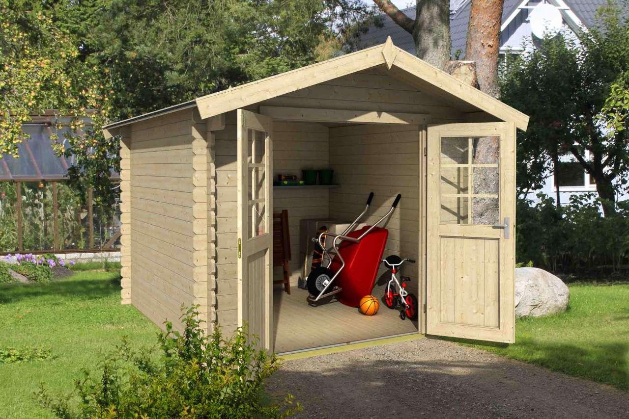 lasita maja gartenhaus finn 35 gartenhaus. Black Bedroom Furniture Sets. Home Design Ideas