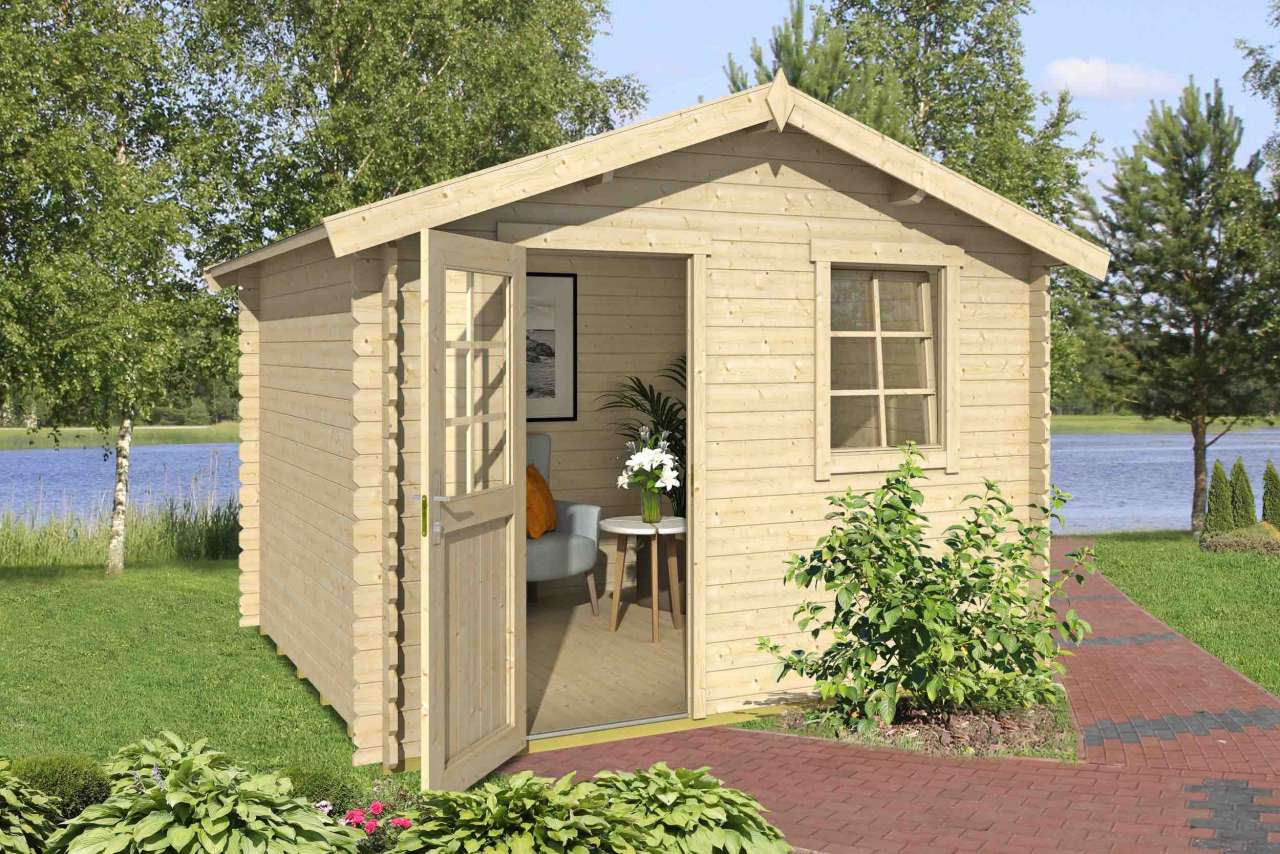 lasita maja gartenhaus finn 37 gartenhaus. Black Bedroom Furniture Sets. Home Design Ideas