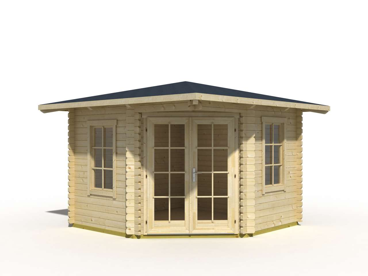 lasita maja 5 eck gartenhaus aruba 1 gartenhaus. Black Bedroom Furniture Sets. Home Design Ideas