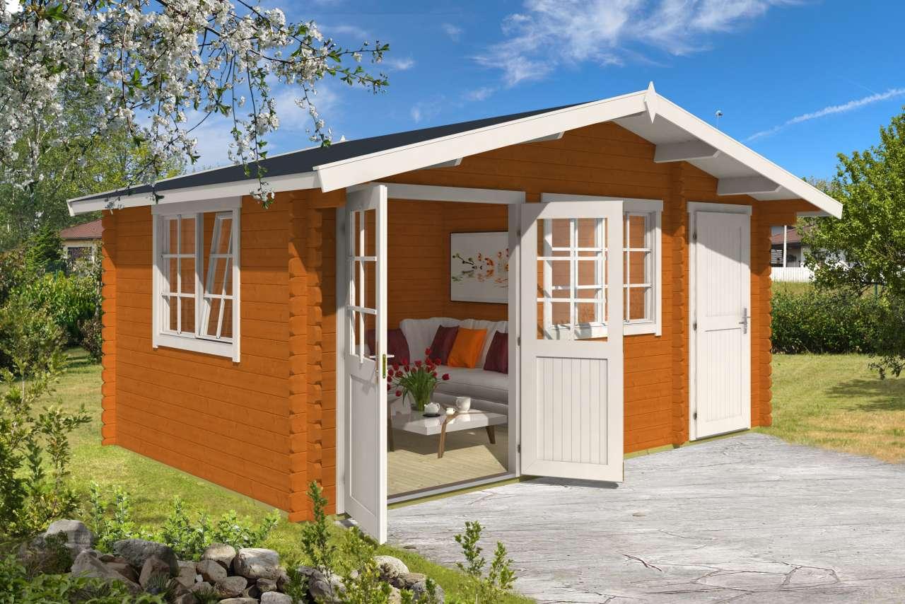 lasita maja gartenhaus borkum 4 gartenhaus. Black Bedroom Furniture Sets. Home Design Ideas
