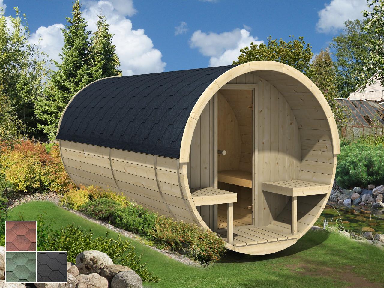 Finn Art Fass-Sauna Jori 1