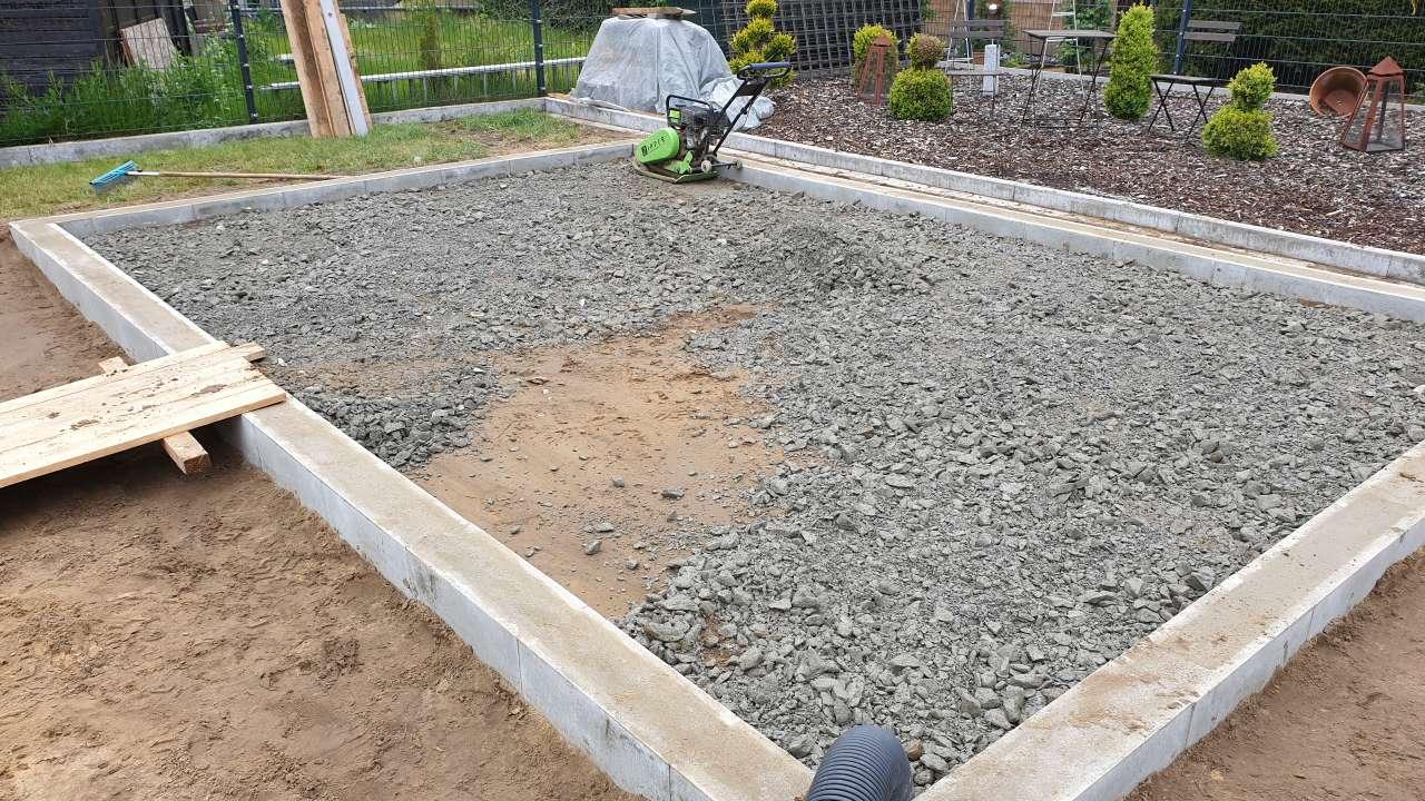 Das Fundament Ihres Gartenhauses