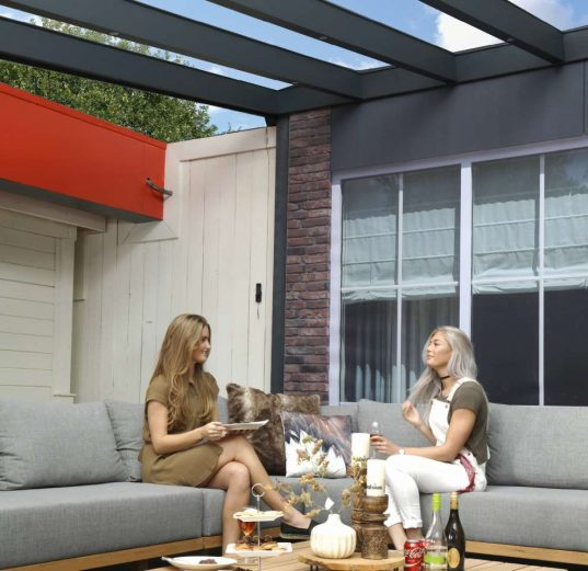 Terrassenüberdachung Superior Glas