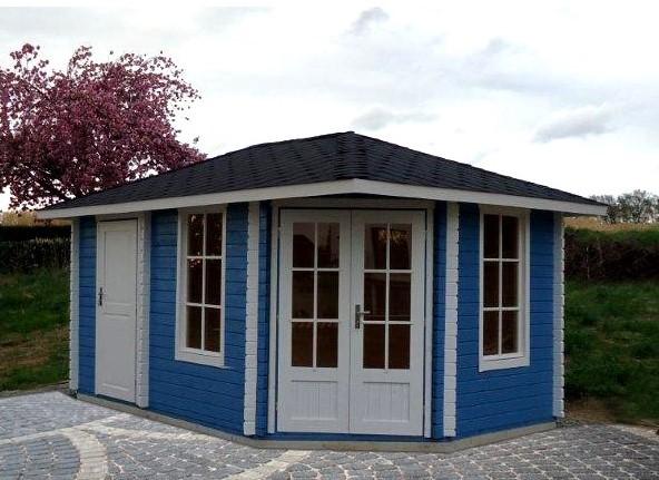 5 Eck Gartenhaus Norwegen 9