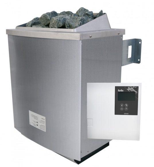 Saunaofen 9 kW mit externe Steuerung Classic und Steinen