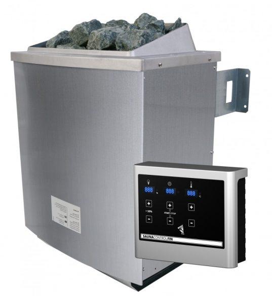 Saunaofen 9 kW mit Steuerung Easy und Steinen