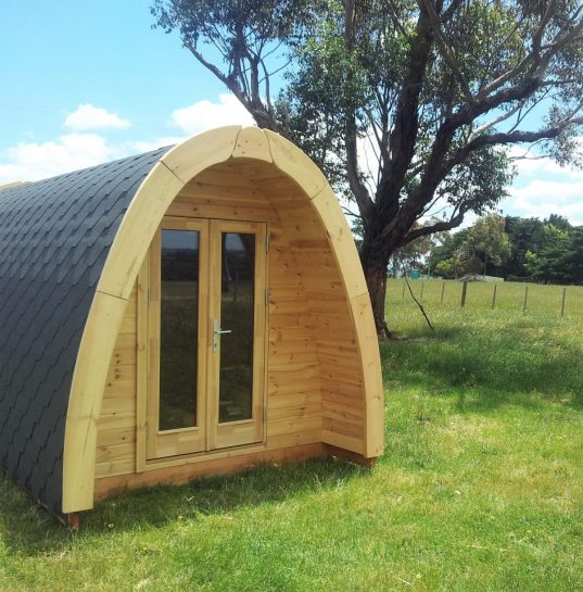 Camping Pod Luxury 240x590 isoliert