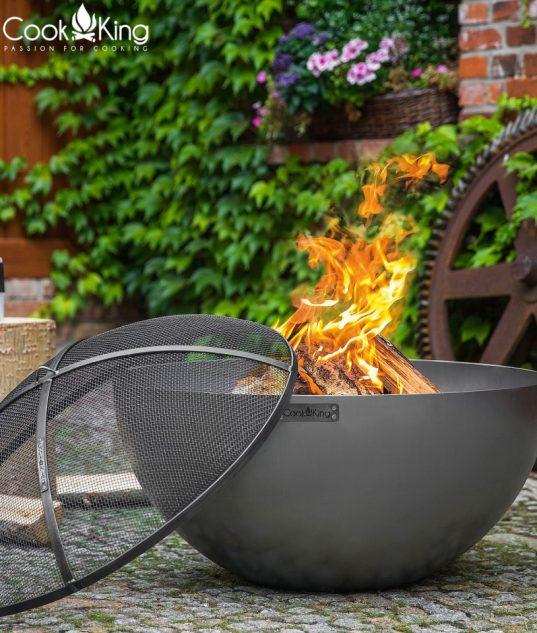 Funkenschutz für Feuerschale