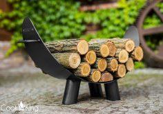 Holzlege Holzträger Mila