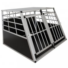 Alu Hundetransportbox XL