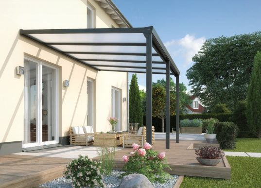 Terrassenüberdachung Easy 16 mm Polycarbonat