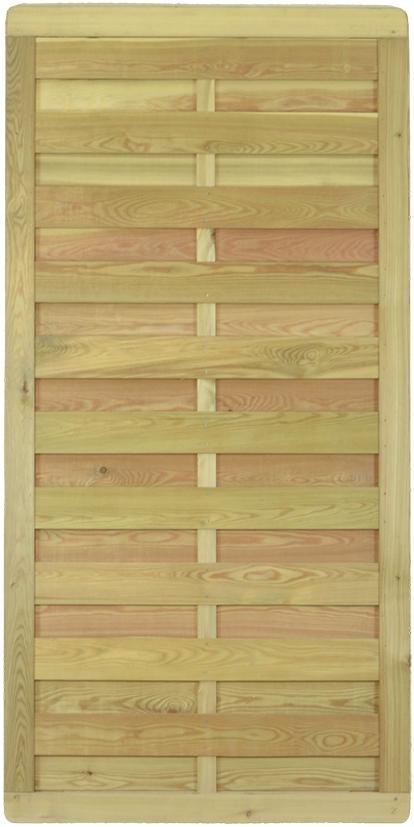 BAIKAL-Serie geschlossen 90 x 180 cm, sib. Lärche