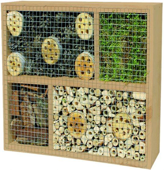 LABO-3D Insektenhaus 2 36 x 36 x 12 cm