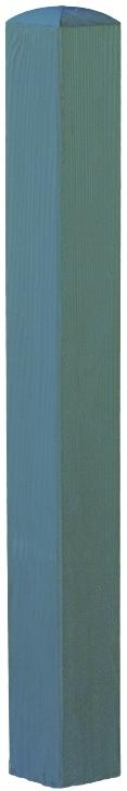 Pfosten mit Bischofsmütze 9 x 9 x 100 cm