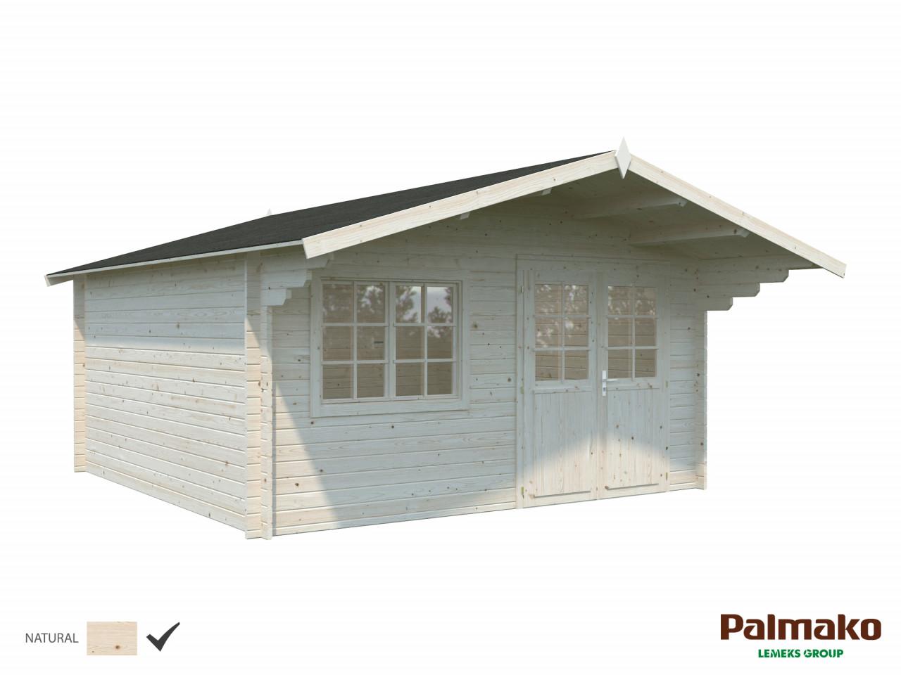 Palmako Gartenhaus Britta 17,5 m²