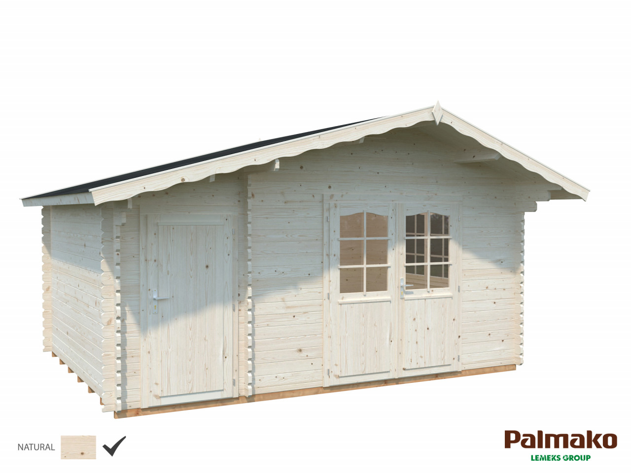 Palmako Gartenhaus Emma 14,2 m²