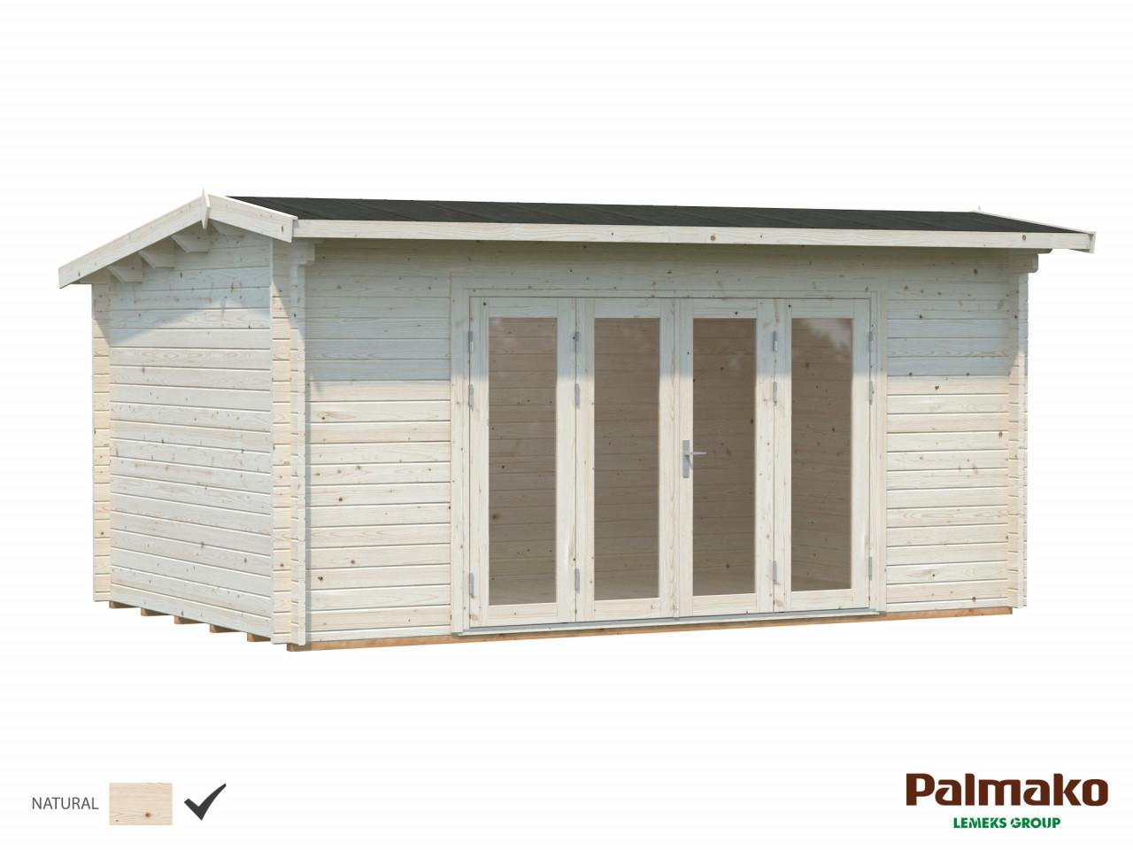 Pultdach Gartenhaus Ines 13,7 m²