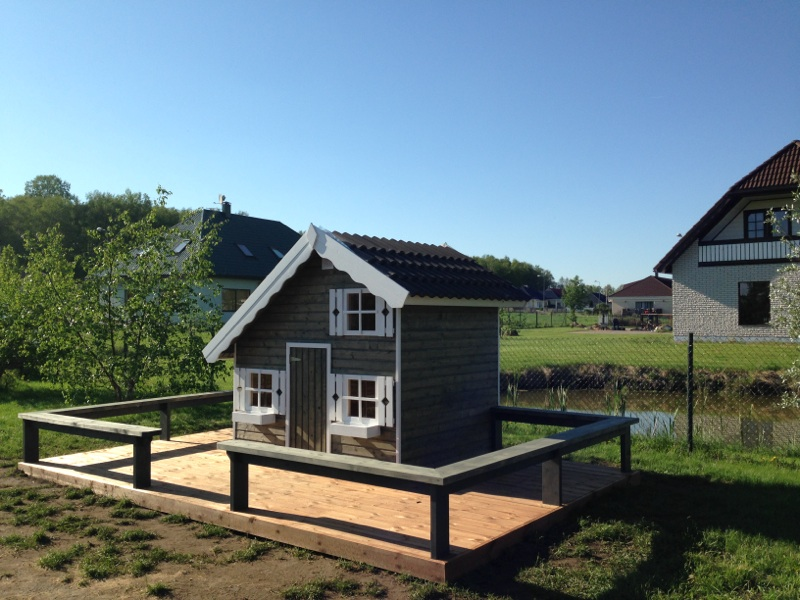Palmako Kinderspielhaus Tom 3,8 m²