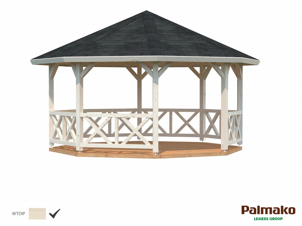 Palmako Pavillon Betty 18,0 m²