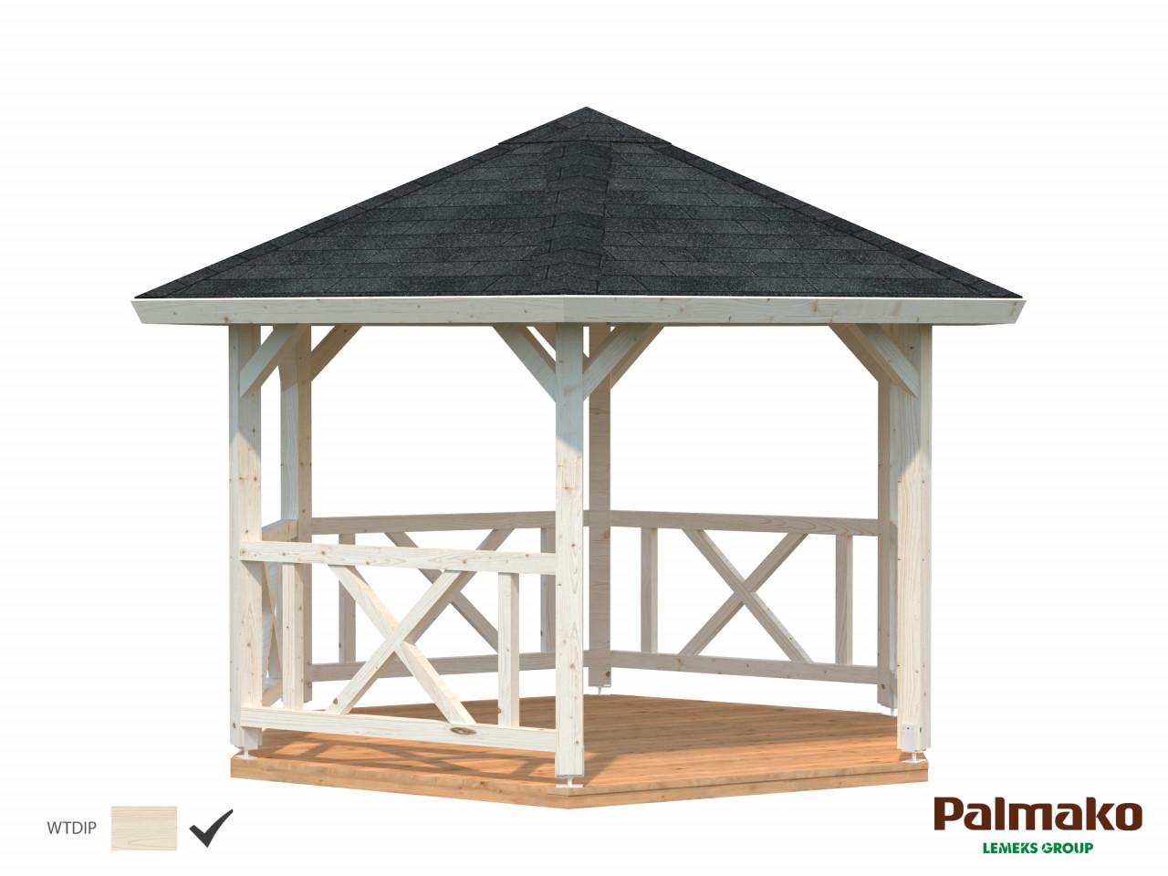 Palmako Pavillon Betty 9,9 m²