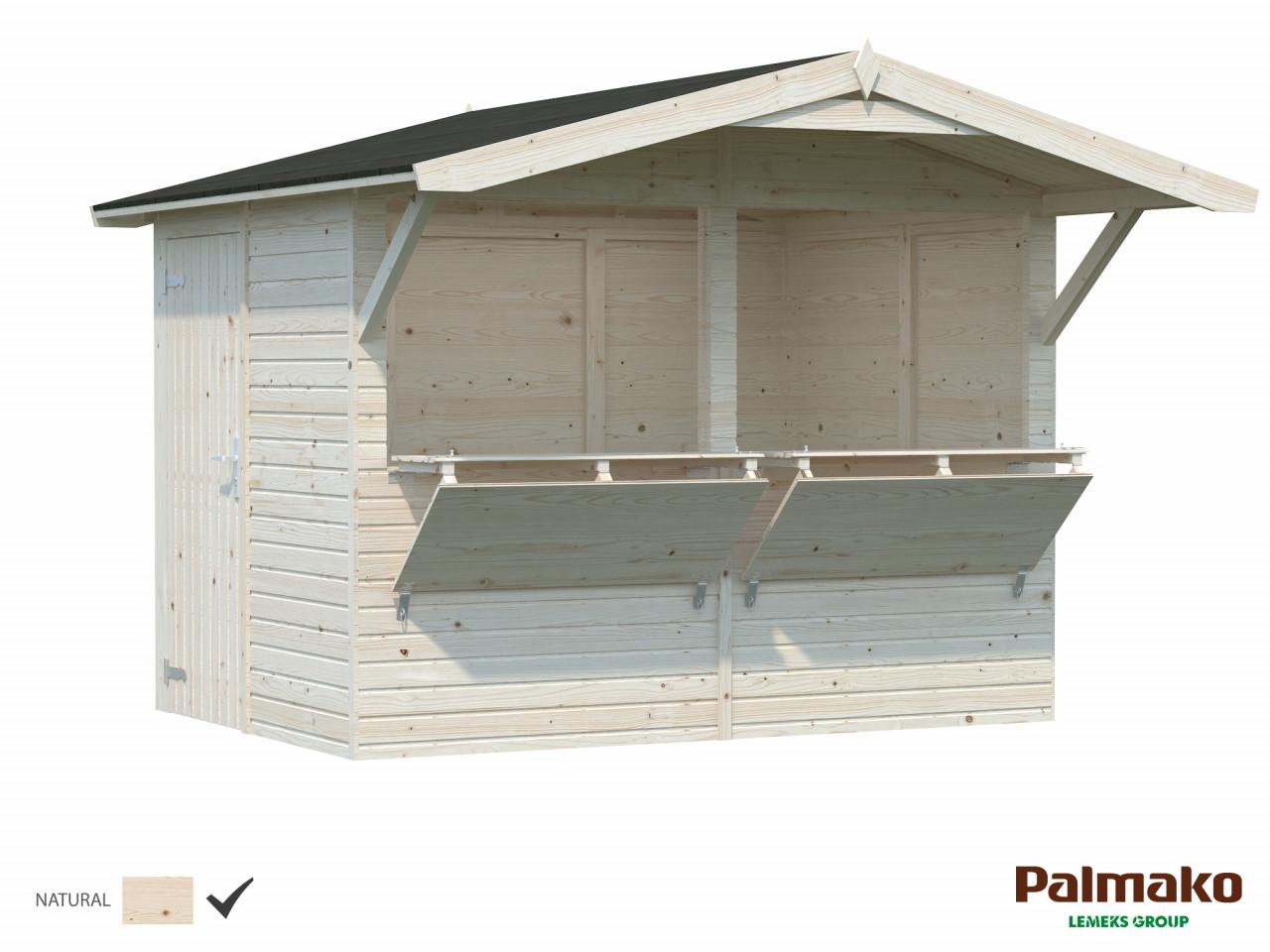 Palmako Marktstand Stella 5,0 m²