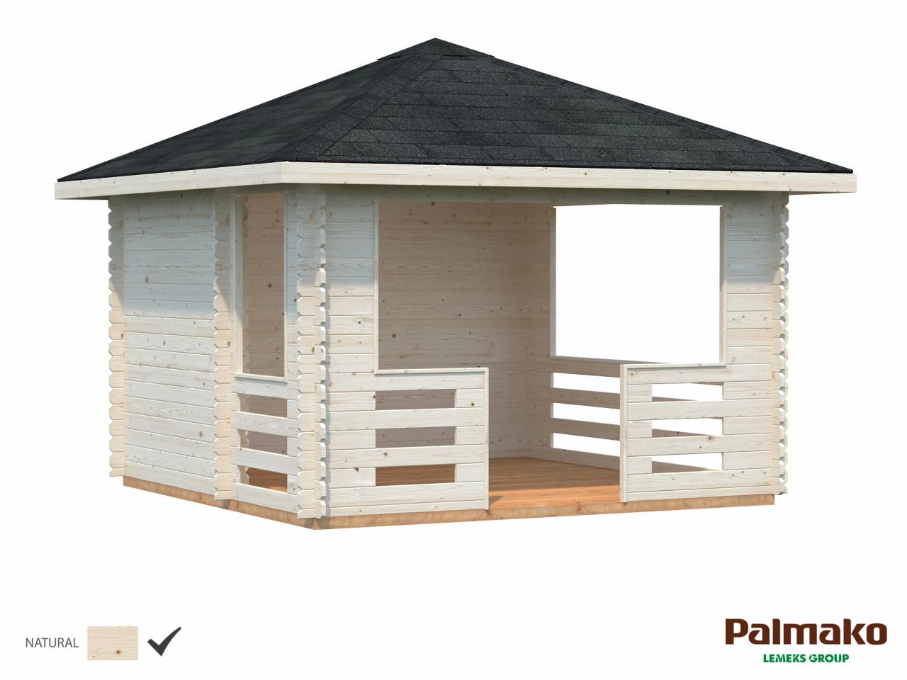 Palmako Pavillon Julie 10,5 m²