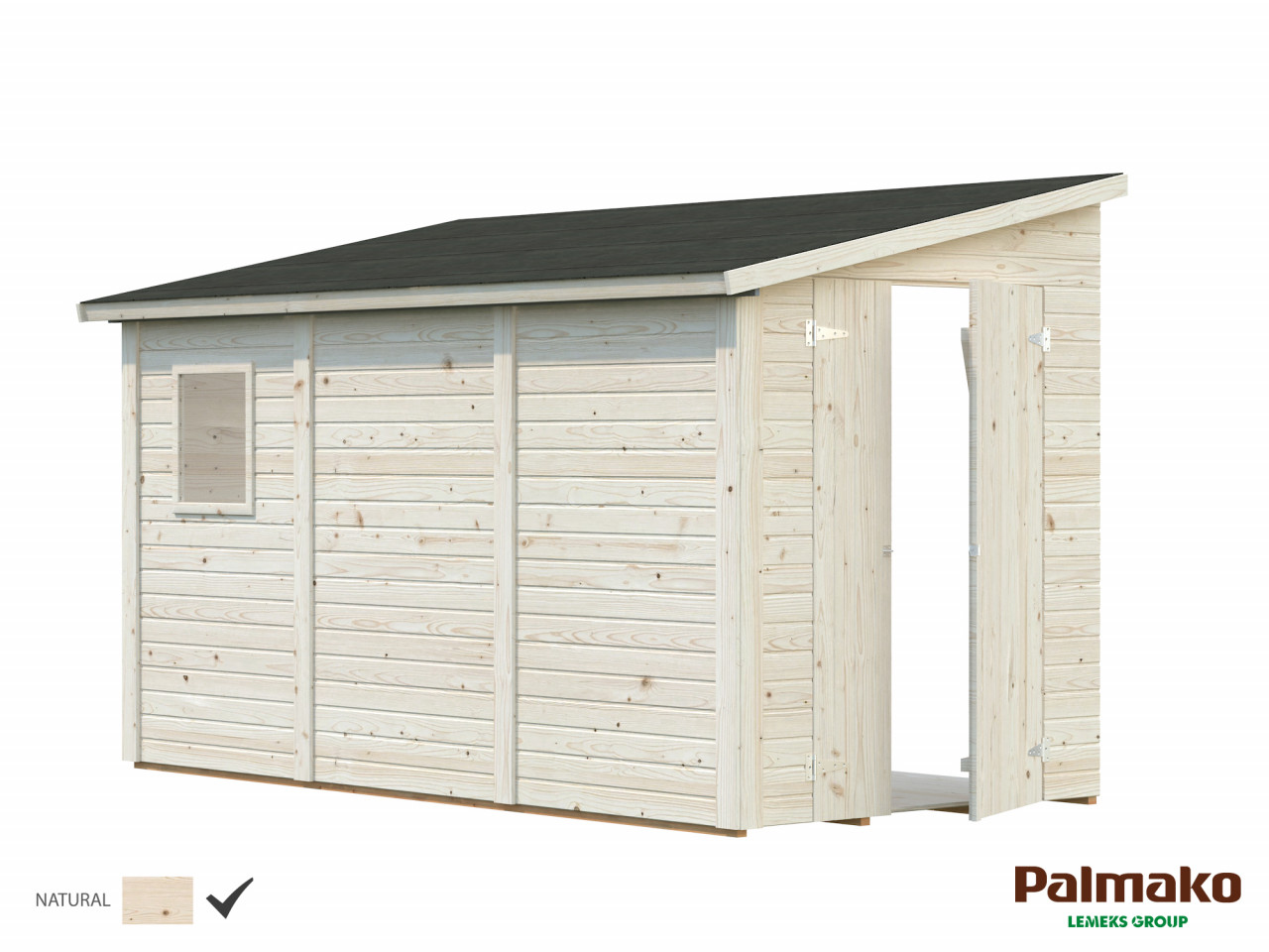 Palmako Gerätehaus Mia 5,4 m²