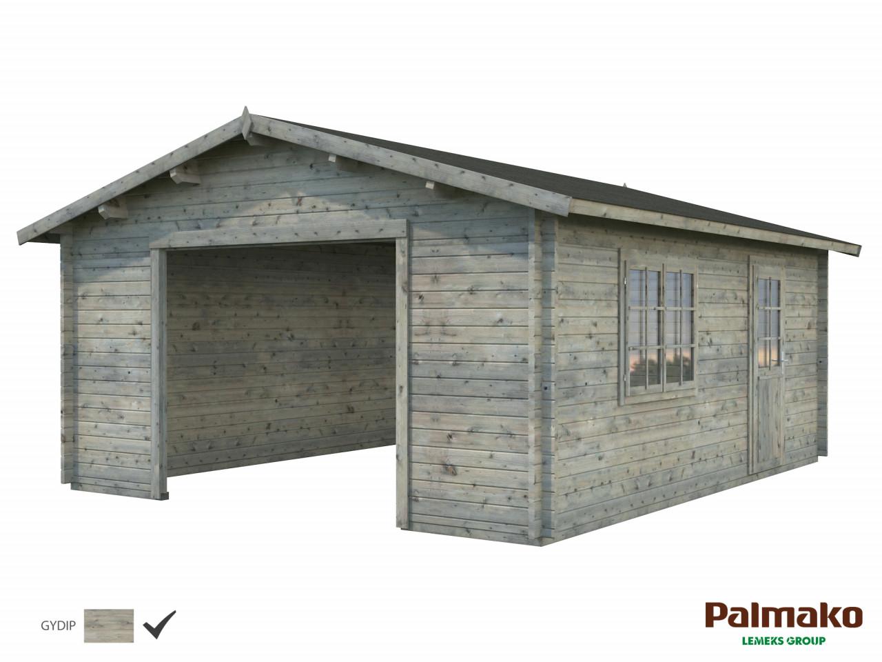 Palmako Holzgarage Roger 23,9 m²